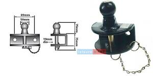 50mm combined Ball and pin towing hitch coupling