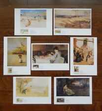 Australia Impressionists~Our Heritage In Stamps~Book & Stamps
