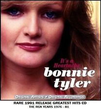 Bonnie Tyler - The Very Best Greatest Hits Collection - RARE 70's Pop Rock CD