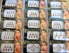 Indian Bindi Jewel Bollywood Multicolored Mix N Match Self Adhesive Forehead New