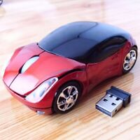Wireless  Mouse 2.4GHz Car shape With USB Receiver
