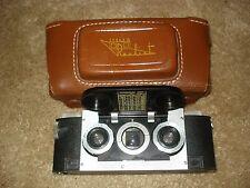 Vintage 1950's Realist Stereo 3D Camera David White 35mm f/3.5