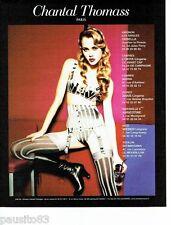 PUBLICITE ADVERTISING 116  2006   les sous vetements  Chantal Thomass