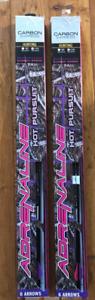 Carbon Express Adrenaline Hot Pursuit Carbon Arrows W/NRG Vanes,150 ( 2-PACKS )