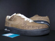 NIKE AIR FORCE 1 LASER PACK STEPHAN MAZE GEORGES OLIVE BIRCH BLACK 308427-331 12
