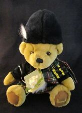 "Harrods of London 10"" Piper Bear Teddy Bear New With Tags Harrods Knightsbridge"
