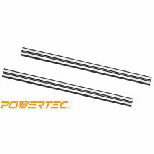 POWERTEC 128310 3-1/4-Inch Carbide Planer Blades for Bosch PA1202, Set of 2