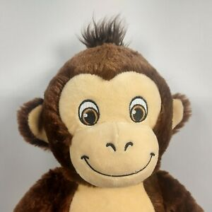 "Build A Bear BAB Smiley Monkey Plush Stuffed Animal Toy 19"""