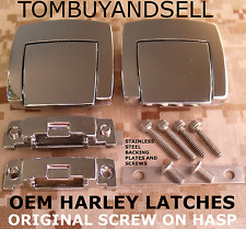 4 LATCHES for HARLEY DAVIDSON TOUR PACK PAK CLASSIC ELECTRAGLIDE ULTRA FLH KING