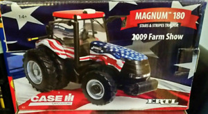 ERTL Case Magnum 180 Tractor STARS STRIPES 2009 Farm Show 1/32 Scale 4th of July