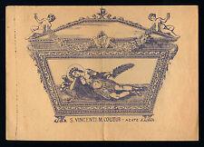 santino stampa popolare 1800 S.VINCENZO M.-ACATE