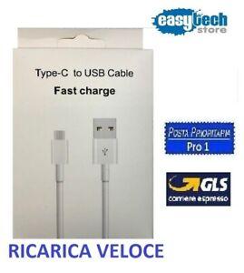 Cavo Type C USB 5A Ricarica Carica e Dati Ultra Samsung Huawei Xiaomi LG