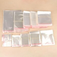200pcs Transparent Self Adhesive Seal Opp Plastic Cellophane Gifts Bags Amp Pouch