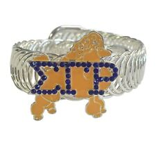 Sigma Gamma Rho Stretchy Bracelet