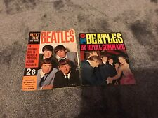 The Beatles By Royal Command AND Meet the Beatles Star Special. Both books 1963.