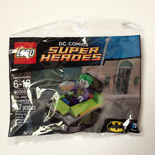 NEW Lego 30303 DC Superheros Joker minifigure Bumper car with pie 47 pcs ship fa