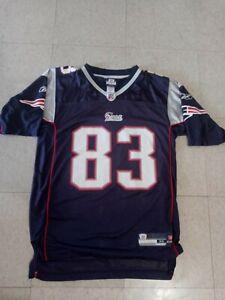 *NEW* Reebok NFL New England Patriots Wes Welker On Field Jersey Men's Medium