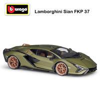 Bburago 1:18 2020 Lamborghini Sian FKP 37 hybrid sports Diecast Car 18-11046GRN
