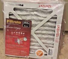 Filtrete Micro Allergen Defense AC Furnace Air Filter 12x12x1 (Lot of 4)