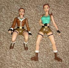 4X Playmates Toys Tomb Raider Figures 1999 Lara Croft