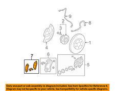 GM OEM Brake-Front Pads 15911562
