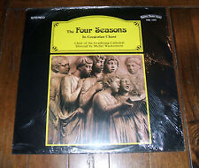 The Four Seasons In Gregorian Chant -Choir of the Strasbourg Cathedral LP Import
