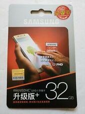 32GB Samsung EVO Plus microSDHC Memory Card Class 10 32 gb