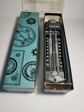 Vintage Taylor maximum minimum thermometer 5458 NEW In Original Box COMPLETE