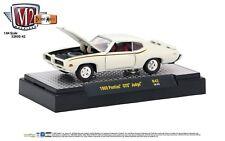 1:64 M2 Machines Detroit Muscle R42 = White 1969 Pontiac GTO Judge NIB!