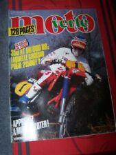 3Y Magazine Moto verte 132 APRILIA 125 250 TUAREG SUZUKI DR 600 S ENDURO TOUQUET
