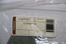 Longaberger - Casserole Dish Sage liner #2806487 New