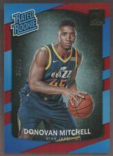 2017-18 Donruss #188 Donovan Mitchell Utah Jazz RC Rookie 26/99
