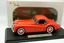 Signature 1/18 - Jaguar XK120 1949 Rouge