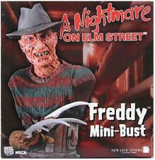 A Nightmare On Elm Street Freddy Krueger Mini-Bust Reel Toys Neca FREE US S+H