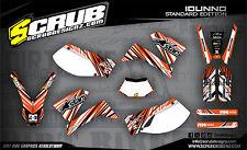 SCRUB KTM SMC 625 - 640 LC4 1999-2005 graphics decal kit stickers '99-'05 SM