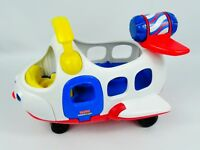 Fisher Price Little People Toy Plane with Sounds,