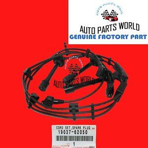 GENUINE TOYOTA 4RUNNER TACOMA TUNDRA T100 3.4L SPARK PLUG WIRE SET 19037-62050