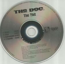 Nwa THE D.O.C. The ?hit CLEAN & INSTRUMENTAL & ACAPPELLA PROMO DJ CD single doc