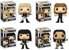 Funko POP! Rocks ~ METALLICA VINYL FIGURE SET ~ James, Lars, Kirk & Robert