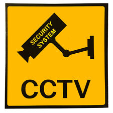 3x Set Aufkleber Warnaufkleber Kamera/Video Ueberwachung Warnschild 100x100 P8Q1