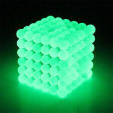 216 5mm Glühen im dunklen Metall magnetischen Neodym-Würfel Ball DIY Fluoreszenz