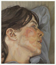 Woman in Profile, Lucian Freud ready mounted print in 10 x 12 inch mount SUPERB
