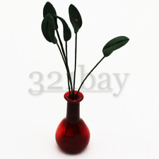 5 pcs. Miniature Clay Leaves for Clay Flowers Dollhouse Garden Vase Aaccessory