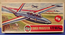 Vintage Airfix 02047 - 1/72 Fouga Magister - Decal options