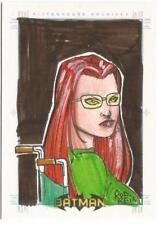 Batman Archives SketchaFEX Sketch Card drawn by Rod Reis