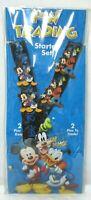 Disney Parks Mickey Goofy Donald Pin Trading Starter Set 4 Lanyard Card NWT NEW