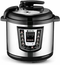 CookJoy Multifunction Electric Pressure Cooker 6 Litre 8-in-1 Programmable