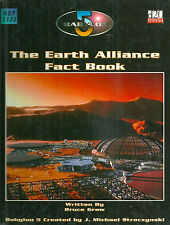 "Graw ""Babylon 5: The Earth Alliance Fact Book"" 2003 1St Ed Hc Vg Rpg Rare!"