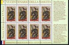 2012 Vatikan 1737 Kleinbogen postfrisch