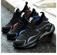 Good Mens Safety Shoes Steel Toe Lightweight Work Boots Hiking Trainers Sneakers